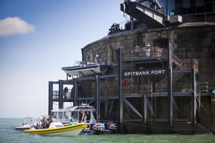 Spitbank Fort Film, Photography Event Venue in Gosport, Hampshire