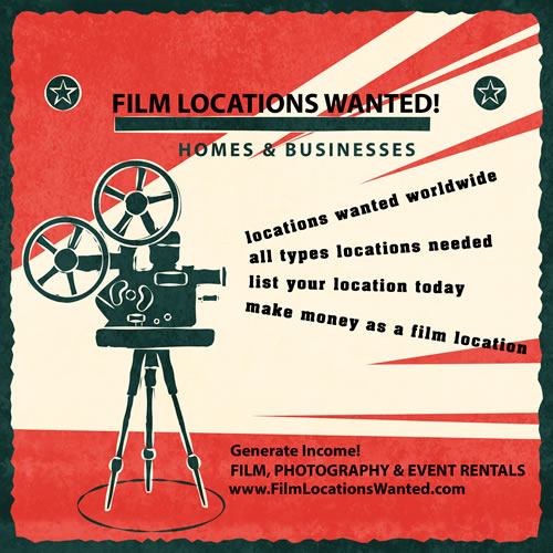 List home business film location movies tv commercials events venues