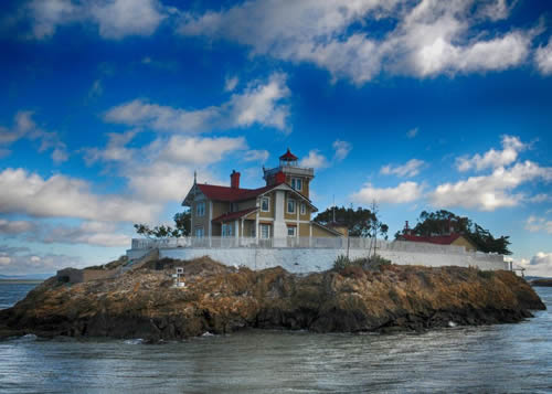 Lighthouse California home film location rental