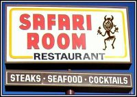 Los Angeles Restaurant Film Location Safari Room