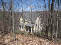 Catskill Gothic 18 mountainside wooded acres Catskills Film Location