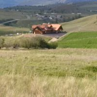 Sunset Ranch - Custom Log Home 160 Acres in Kamloops BC Location