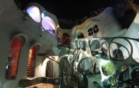 Mexico Film Locations Sci Fi Fantasy Houses, Inspired by Dr. Seuss, HR Giger, Tim Burton and Gaudi