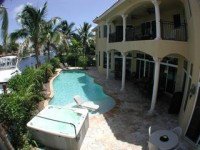Florida Mediterranean Tropical Mansion Estate Waterfront Film Location