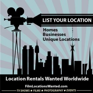 how to post your house or business film location