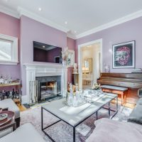 Elegantly Furnished Rosedale Ontario Home Available For 5 months