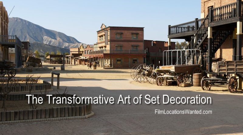 film locations set design