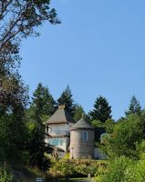 turret Washington Nordic Hill Manor - European castle like Manor for Filming Location